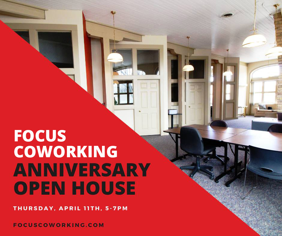 FOCUS Coworking Anniversary Open House